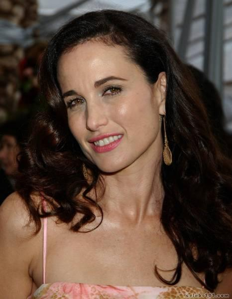 SHARON STONE SHOP: Andie MacDowell Picture Pages