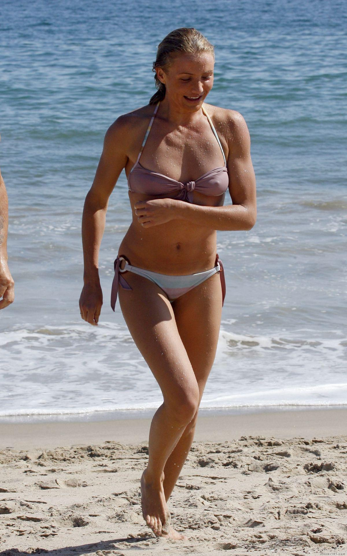 Remarkable, Cameron diaz see through bikini question