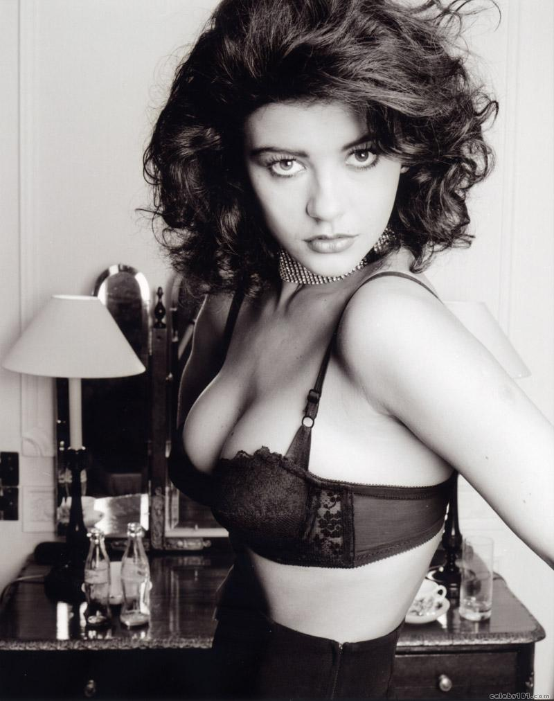 CATHERINE ZETA-JONES BLACK BRA
