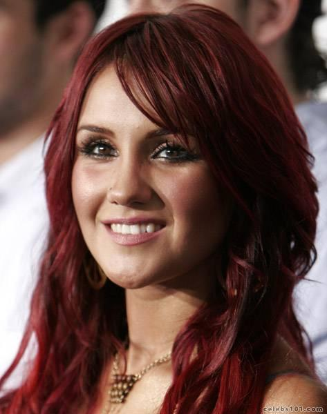 Dulce Maria Hair Color