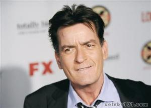 Actor Charlie Sheen pledges $1 million to U.S. military support group