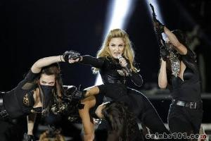 Madonna voices love for tolerant France in Paris show