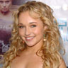 Hayden Panettiere plays on the Wii