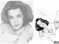 Gillian Anderson Wallpaper