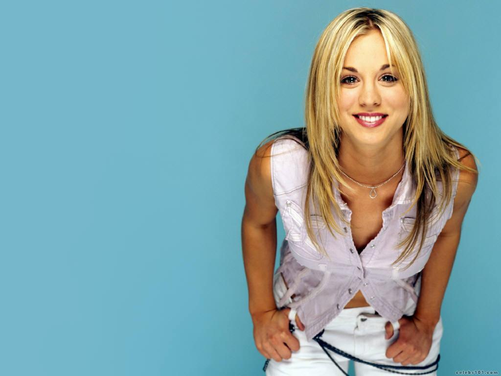 kaley cuoco high quality wallpaper size 1024x768 of kaley
