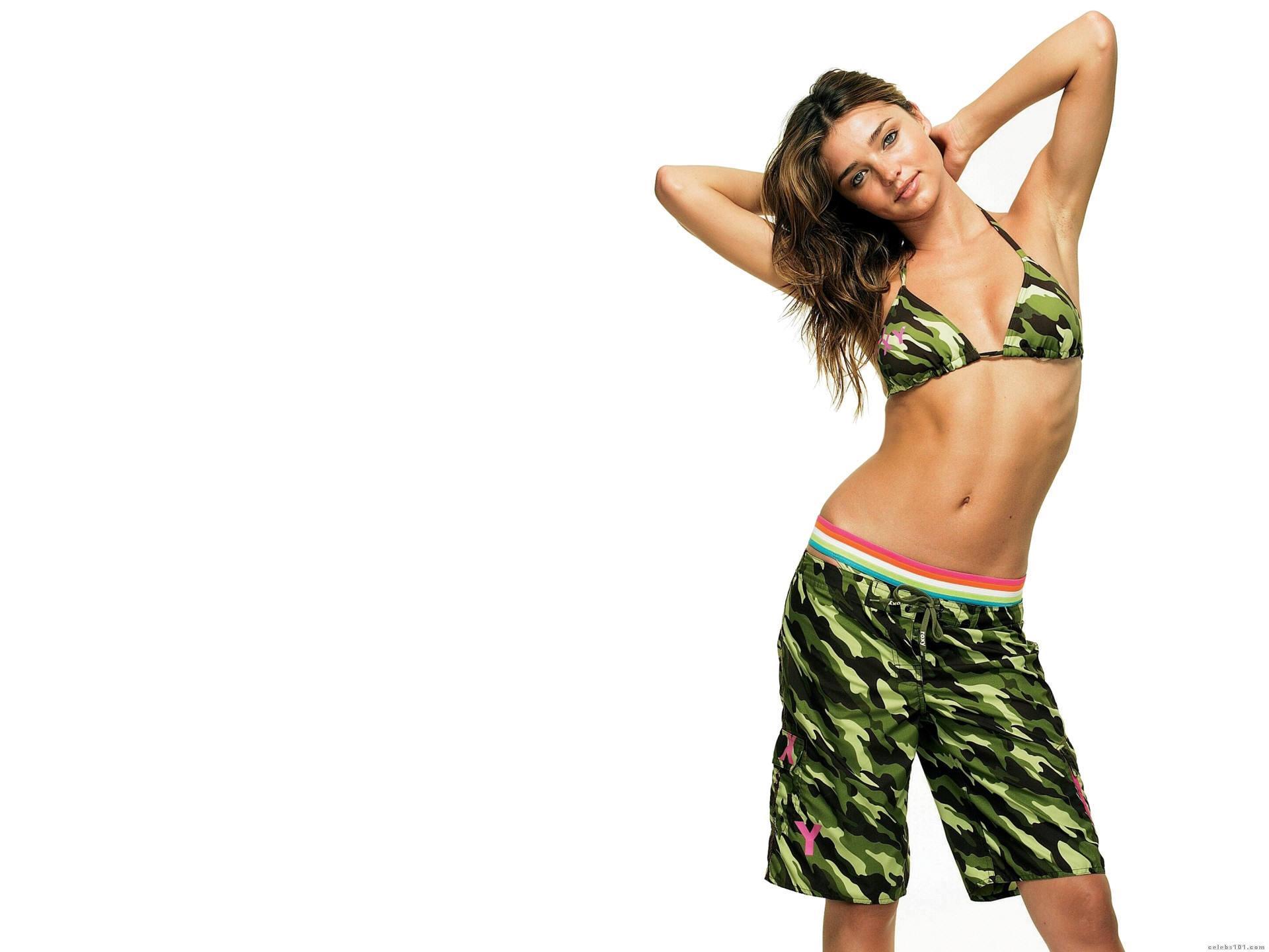 1920x1440 Miranda Kerr sexy girls bikini teen wallpaper