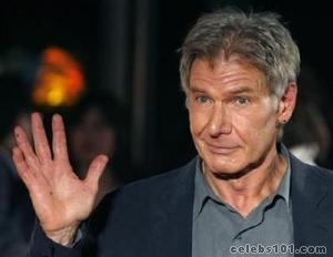 Harrison Ford rises early for talk show comedy