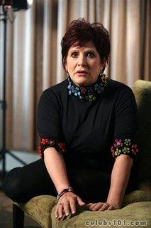 Carrie Fisher spills juicy secrets on Broadway