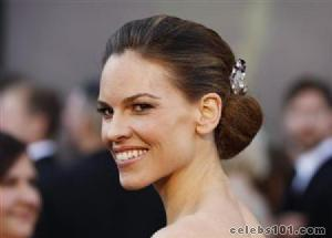 Hilary Swank gives fees from Chechen event to charity