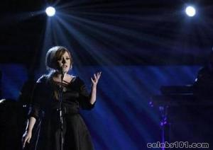 Adele cancels N.American dates due to laryngitis