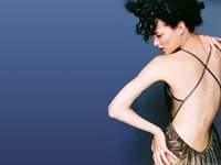 Shalom Harlow Wallpaper