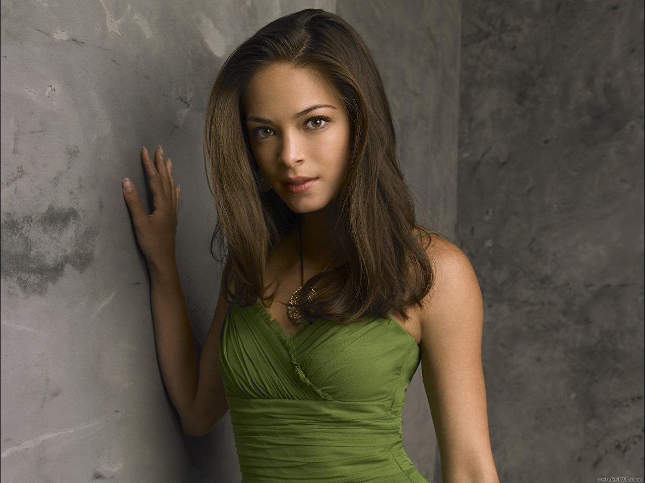 Kristin kreuk see through